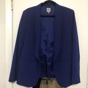 Ann Klein 12 blue blazer